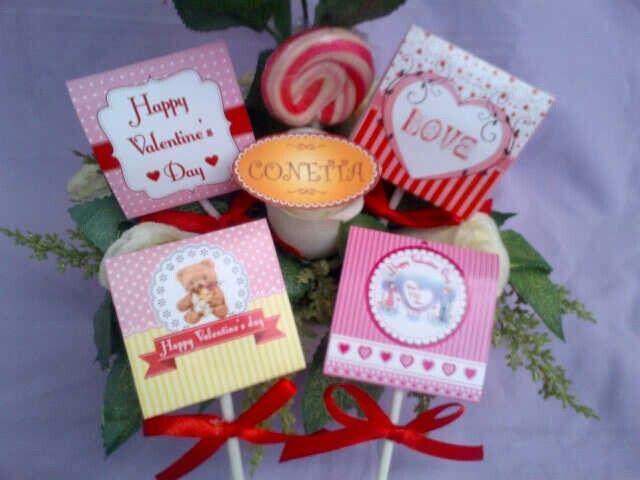 Lollipop Valentine