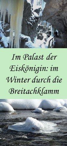 Winterwanderung durch die Breitachklamm