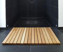 Holz-Badvorleger THEIPA Eiche, 50 x 70 cm