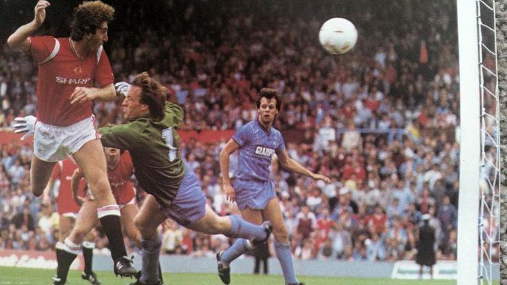 Coventry City 0 Man Utd 3 in Sept 1984 at Highfield Road. Norman Whiteside scored twice #Div1