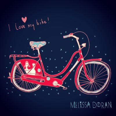 2_Melissa: my beautiful alexander girard electra bicycle