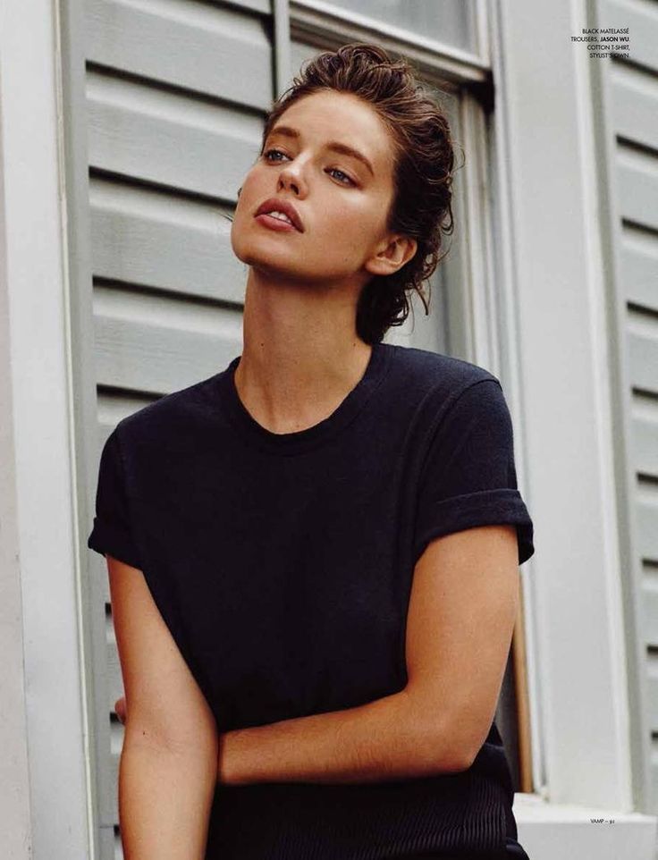 Emily DiDonato on Vamp Magazine fall-winter 2015 editorial Photoshoot