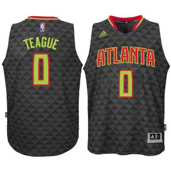 Jeff Teague Atlanta Hawks Youth Swingman Basketball Jersey - Black - $56.99