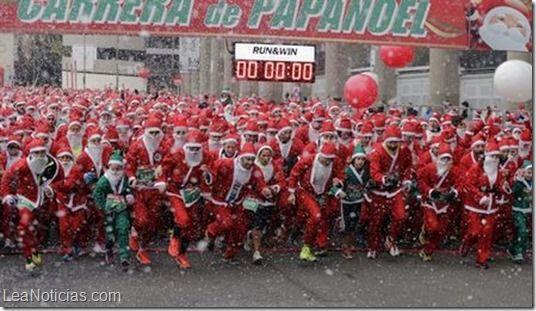 San Nicolás batió el Récord Guinness en Madrid - http://www.leanoticias.com/2014/12/15/san-nicolas-batio-el-record-guinness-en-madrid/