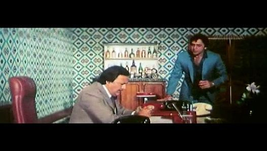 Khud-Daar (1982)  Hari R. Srivastav lives a middle-class life in rural India with two step-brothers, Govind and Rajesh. Circumstances compel him to get married to Seema, who dislikes Govind and Rajesh. When ...   Stars: Sanjeev Kumar, Amitabh Bachchan, Vinod Mehra  http://www.imdb.com/title/tt0084199/