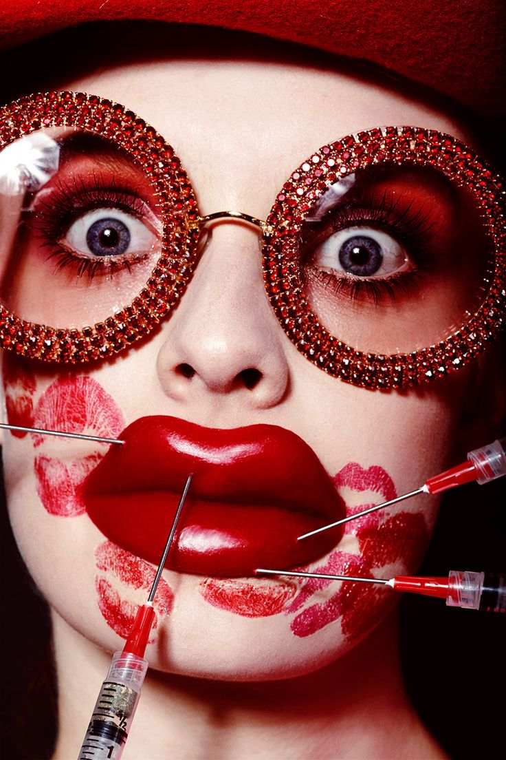 Vogue Ukraine Love Valentine Beauty Editorial with model ...