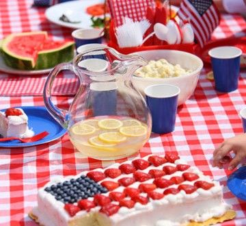 fourth of july picnic foods