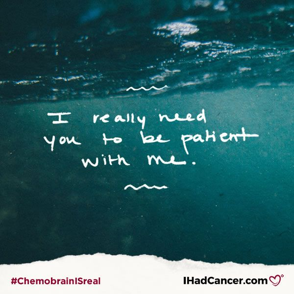 10 Things Cancer Survivors Want You To Know About Chemo Brain