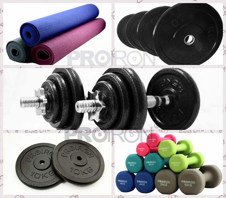 PROIRON Soild Cast Iron Adjustable Dumbbell Sets Hand weight set 20kg 15kg 30kg