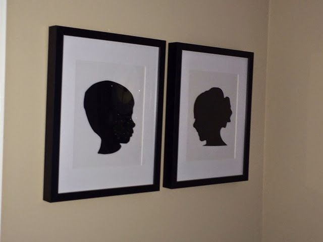 DIY Silhouette Art with Vinyl and Cardstock (No Tricky Photography or Editing Needed) - Silhouette School