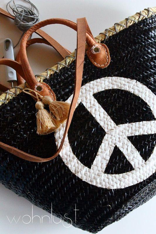 Wohnlust: peace - pimp my bag