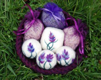 Lavender felted soap | Felted Soaps | Pinterest