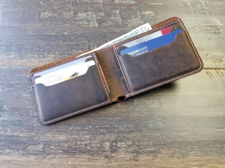 Excited to share the latest addition to my #etsy shop: PERSONALIZED Bifold Leather Wallet, Men's Wallet, Slim Leather Wallet, Distressed Leather Wallet, Minimalist Leather Wallet, Groomsmen Gifts http://etsy.me/2BKxqtX #accessories #wallet #brown #anniversary