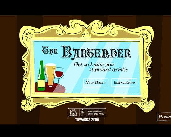The Bartender - an interactive standard drinks activity from the Office of Road Safety, Western Australia. Try out your knowledge of standard drinks with this quiz.