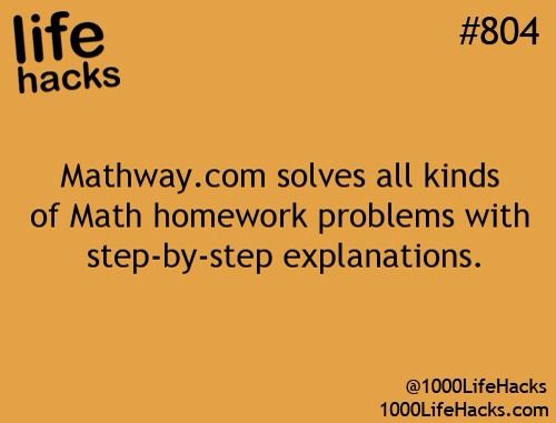 Mathway.com!! this site is amazing! I use it to check my work! Everyone should know about it. (Be warned if you want it to show you the work you have to upgrade. That's why I use it to check my answer)