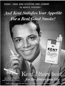 """Vintage ad, For """"Kent"""" Cigarettes"""