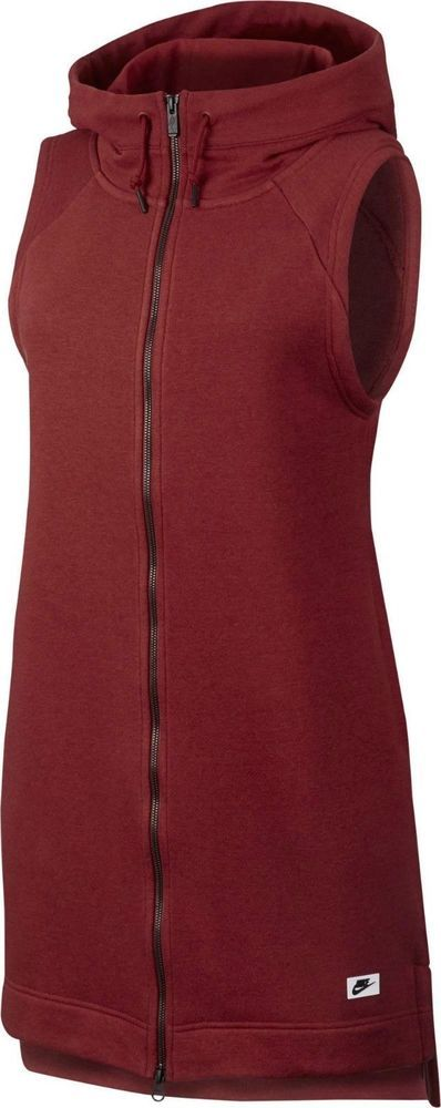 NIKE WOMEN'S SIZE M SPORTSWEAR MODERN VEST 831739 674 RED NEW #Nike #Vests