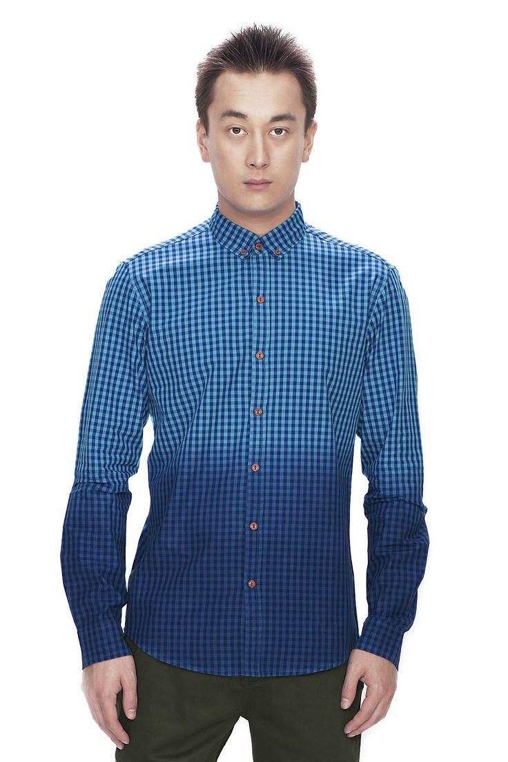 Dip Dyed Gingham Shirt SS/14