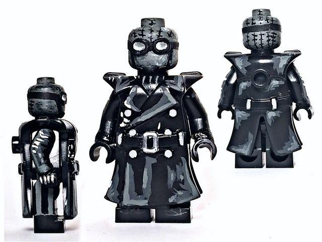 Custom LEGO Minifigure of the Week - Noir Spider-Man by sccustoms #LEGO #BrickWarriors #Minifigure #SpiderMan #Marvel #LEGOaccessories #MinifigureAccessories #Noir