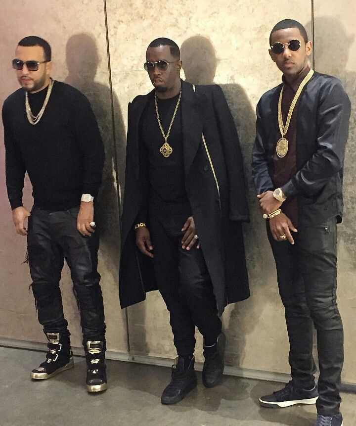 French Montana, Sean P. Diddy Combs & Fab