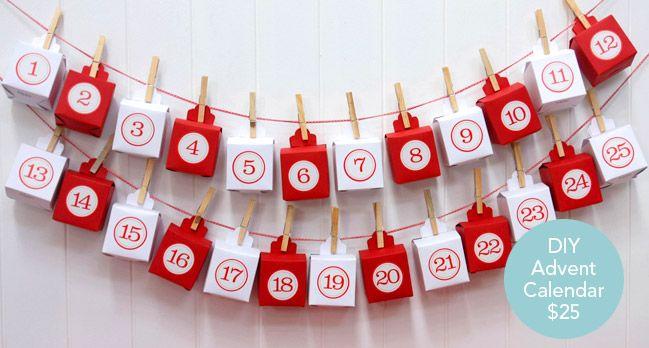 Christmas Advent Box Calendar by KatyJane Designs http://www.katyjane.com.au/email/christmas_advent_calendar.htm