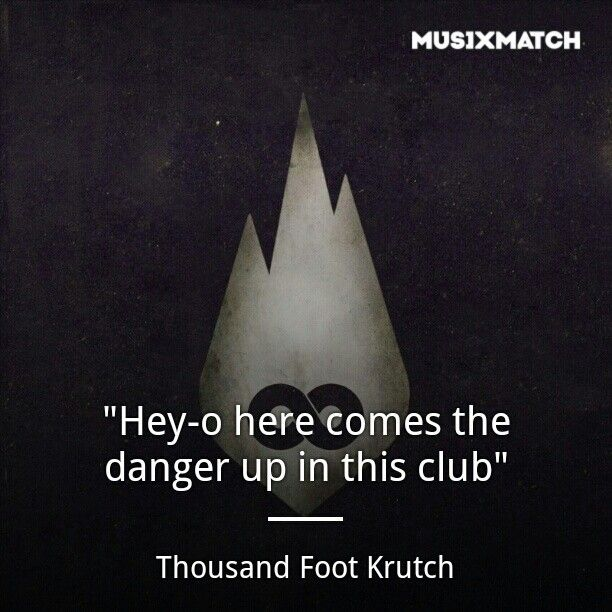 Courtesy Call - Thousand Foot Krutch