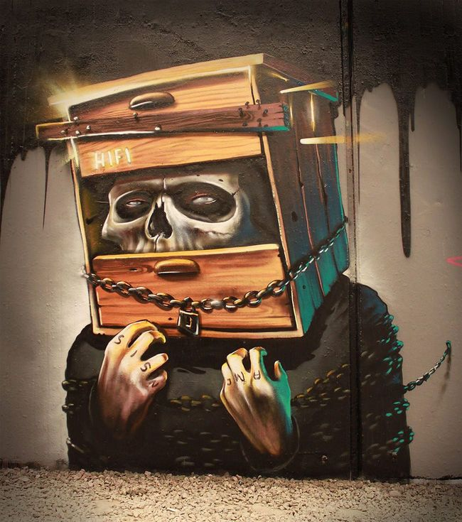 Graffiti - Characters By Hifi - Bochum (Germany)