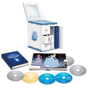 Cinderella Trilogy with Limited Edition Collectible Jewelry Box Packaging (Six-Disc Combo: Blu-ray/DVD + Digital Copy): Box Packaging, Boxes, Diamond, Cinderella Trilogy, Limited Edition, Digital Copy