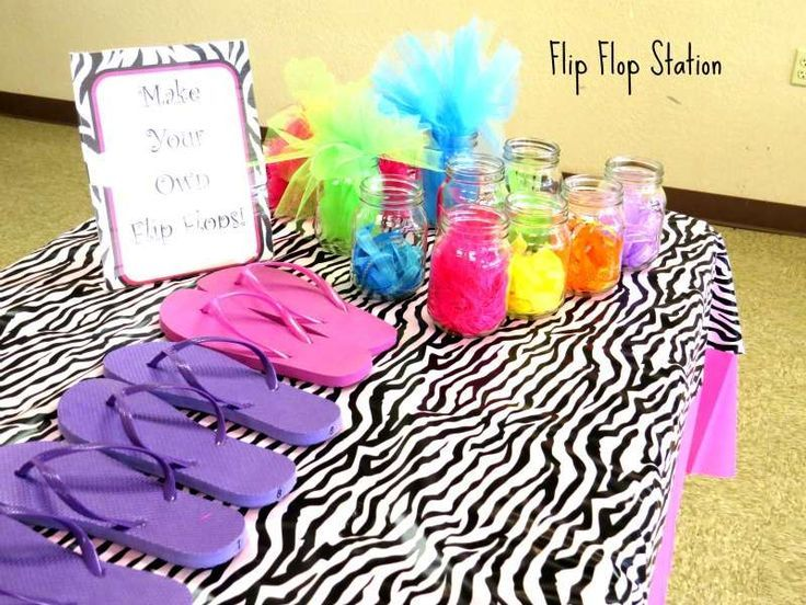 spa pamper party Birthday Party Ideas | Photo 6 of 16 | Catch My Party: