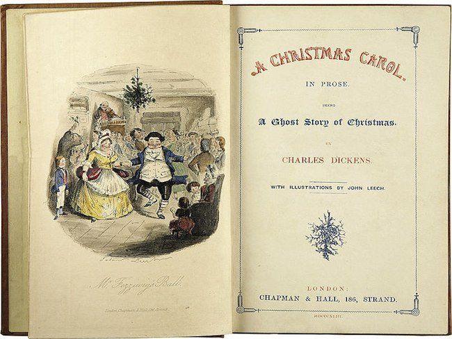 Un cuento de Navidad, de Charles Dickens