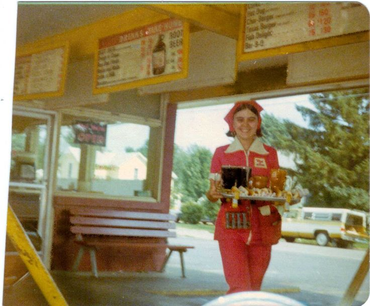 Car Hop Locations: 17 Best Images About My First Job Mid 70's -- Dog N Suds