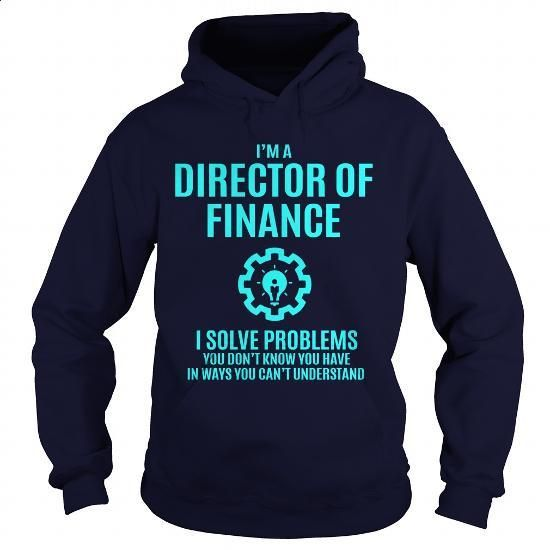 DIRECTOR OF FINANCE - #men #retro t shirts. MORE INFO =>…