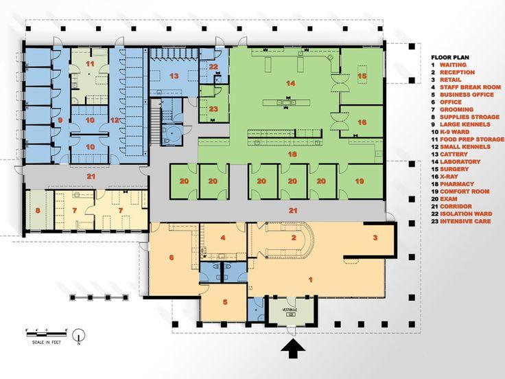 veterinary floor plan yukon hills animal hospital medical office layout floor plans hospital building plan