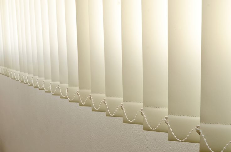 vertical blinds in the office in dublin