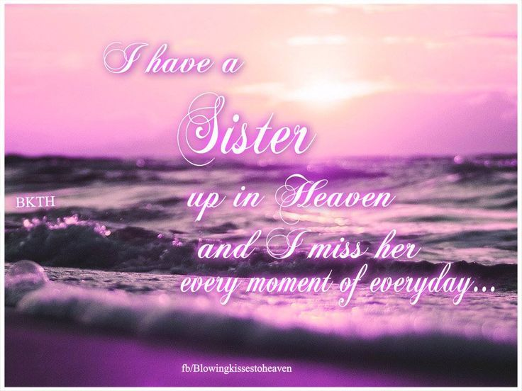 Another anniversary :(   Miss you more than words can say! Lots of love, big sis. K xx
