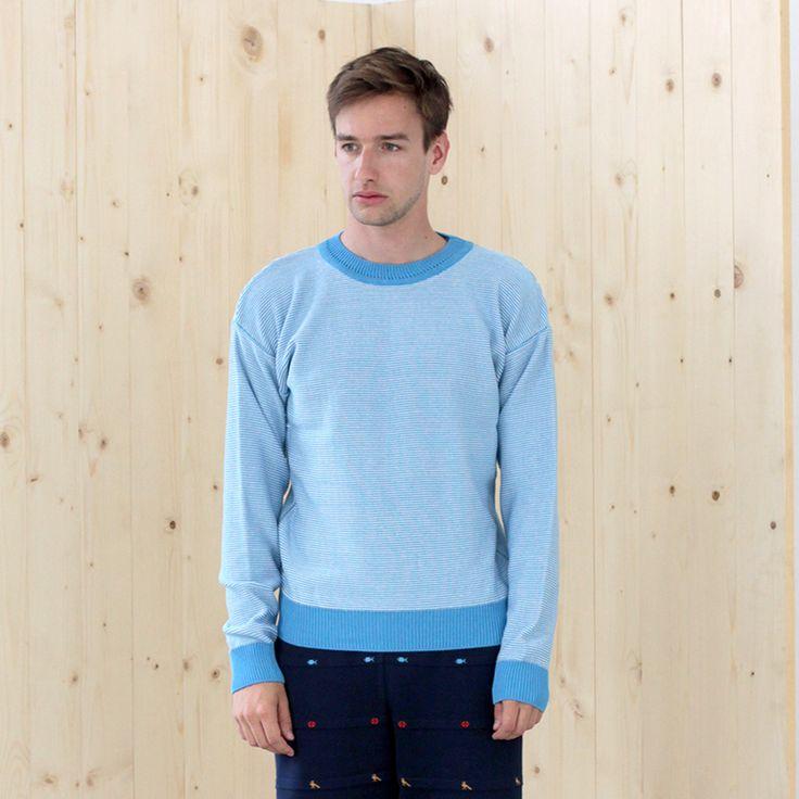 sweater KELE sky