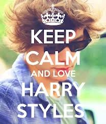 KEEP CALM AND LOVE HARRY STLES! <3<3<3