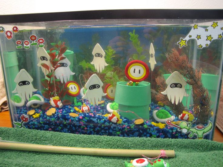1000 images about mario nursery on pinterest for Mario fish tank