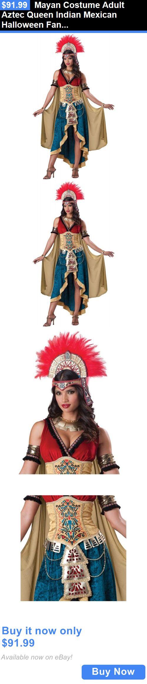 halloween costumes women mayan costume adult aztec queen indian mexican halloween fancy dress buy it - Mexican Halloween Mask