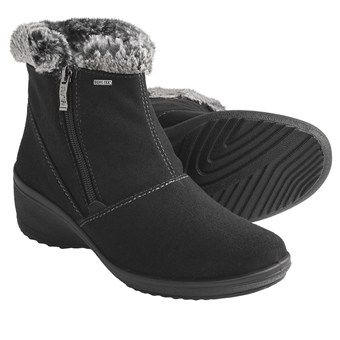 Ara Brenda Gore-Tex® Boots - Waterproof, Side Zip (For Women) $175 -  Waterproof breathable Gore-Tex® membrane Cushioned removable insole Non-slip rubber outsole