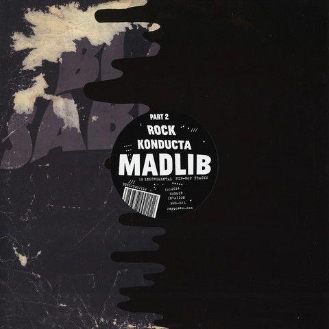 Madlib Rock Konducta Part 2 Vinyl LP