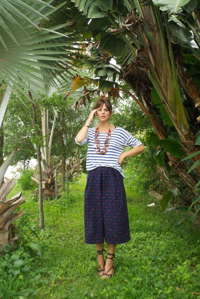 Sallieoh (nails it again) || Style Arc Erin Culottes