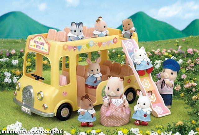 Sylvanian Families autobus
