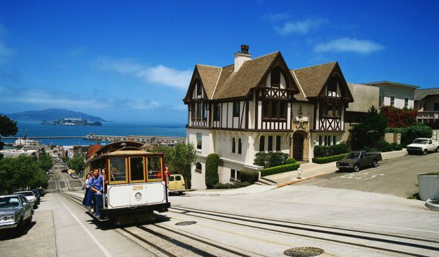 Russian Hill Walk, San Francisco