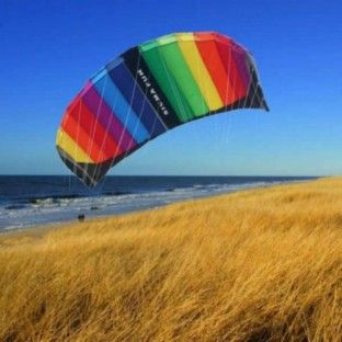 De Elliot Sigma Fun is een leuke matrasvlieger voor beginners. Ook bij weinig wind kun je hier goed mee vliegeren. bron: www.vlieger-planet.nl