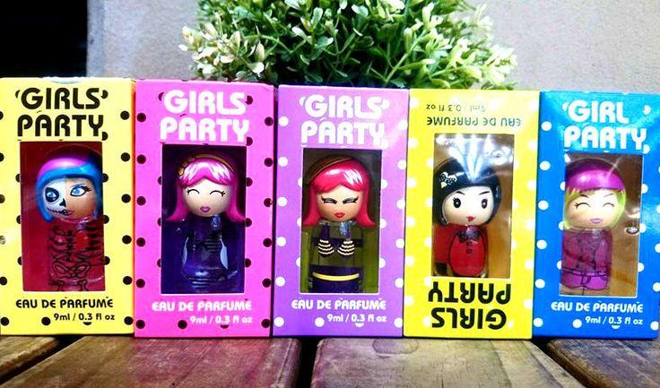 PARTY GIRLS SEXY LUCKY DOLLS ❤ WOMEN PERFUME-9ML/0.3 fl oz LET S GET SEXY