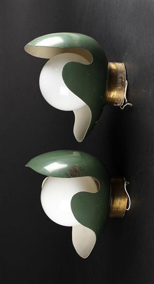 Vare: 3850886 Palle Suenson, par væglamper, ca. 1940 (2)