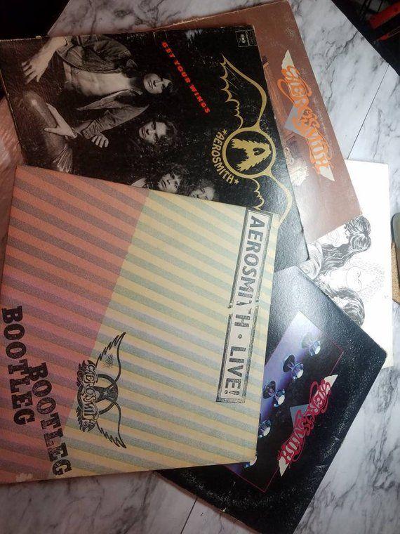 Aerosmith Vinyl Records 1970 S Recorded Audio Record Etsy Vinyl Records Toys In The Attic Aerosmith