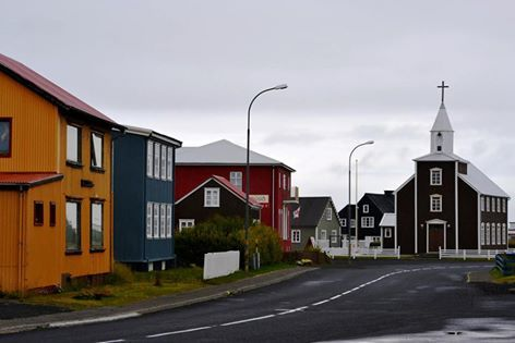 Iceland is home to multiple small towns! Here's a look at the charming town Eyrarbakki!