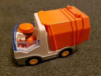 Playmobil 1 2 3 Müllabfuhr, Müllauto